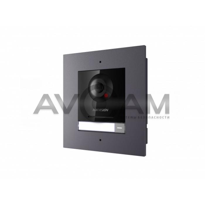 Врезная 2 Мп IP вызывная панель (комплект) Hikvision DS-KD8003-IME1/Flush