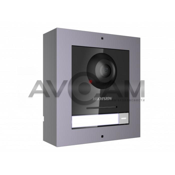 Накладная 2 Мп IP вызывная панель (комплект) Hikvision DS-KD8003-IME1/Surface